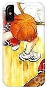 Girl's Basketball IPhone Case