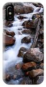 Glacial Stream IPhone Case