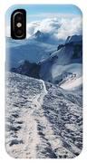 Glacier Blanche  IPhone Case