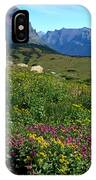 Glacier Blooms IPhone Case
