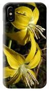 Glacier Lily 2 IPhone Case
