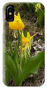 Glacier Lily 3 IPhone Case
