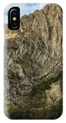 Glacier Swirl - Matka, Macedonia IPhone Case
