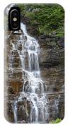 Glacier Waterfalls IPhone Case