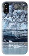 Glacier With Kayakers IPhone Case