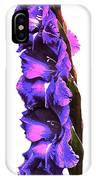 Glad I'm Purple IPhone Case