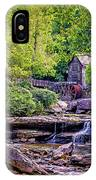 Glade Creek Grist Mill 3 IPhone Case