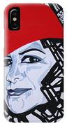 Glafira Rosales In The Red Hat IPhone Case