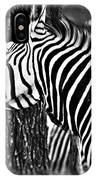 Glamorous In Black And White IPhone Case