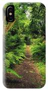 Glanleam, Co Kerry, Ireland Pathway IPhone Case