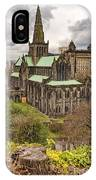 Glasgow Cathedral From The Necropolis IPhone Case