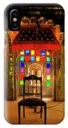 Glass And Mirror Room City Palace Udaipur IPhone Case