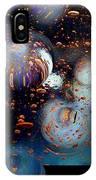 Glass Bubbles 1 IPhone Case