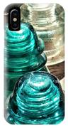 Glass Insulators IPhone Case