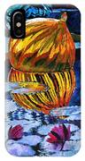 Glass Reflections On Lily Pond IPhone Case