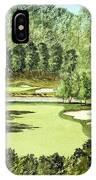 Glen Abbey Golf Course Canada 11th Hole IPhone Case