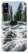 Glen Alpine Falls 7 IPhone Case