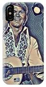 Glen Campbell Abstract IPhone Case