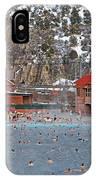 Glenwood Springs Hot Springs In Winter IPhone Case