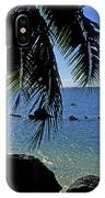Glistening Anini Beach IPhone Case