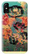 Glitched Tulips IPhone Case