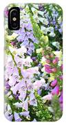 Glorious Foxgloves IPhone Case