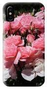 Glorious Pink Roses IPhone Case