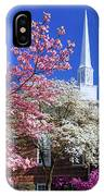 Glorious Sunday Morning In Spring IPhone Case