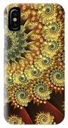 Glowing Amber IPhone Case