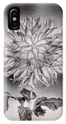 Glowing Dahlia IPhone Case