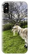 Goat Enjoying The View IPhone Case