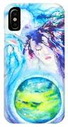 God, Goddess, Earth Ripple Effect IPhone Case