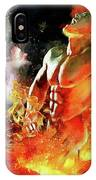 God Of Fire IPhone Case