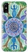 Goddesses Dancing IPhone Case