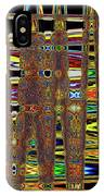 Going And Going Abstract IPhone Case