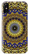 Gold And Sapphires  IPhone Case