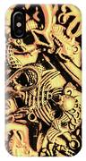 Gold Aquarium IPhone Case