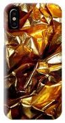 Gold Art IPhone Case