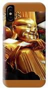 Gold Buddha 5 IPhone Case