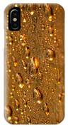 Gold Drops IPhone Case