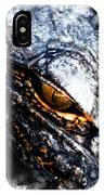 Gold Gator Eye IPhone Case