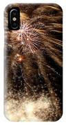 Gold In Space IPhone Case