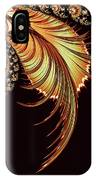 Gold Leaf Abstract IPhone Case