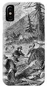 Gold Mining, 1853 IPhone Case