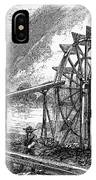 Gold Mining, 1860 IPhone Case