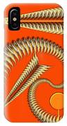 Gold Pipes IPhone Case