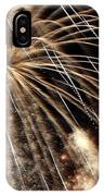 Gold Spangles IPhone Case
