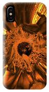 Golden Anemone IPhone Case