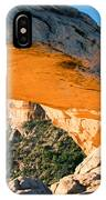 Golden Arch IPhone Case