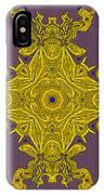 Golden Artifact IPhone Case